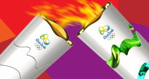 revezamento Tocha-Olímpica