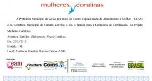 Convite - Certificação