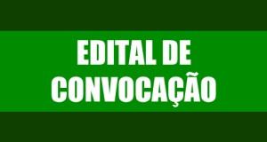 Edital-convocação
