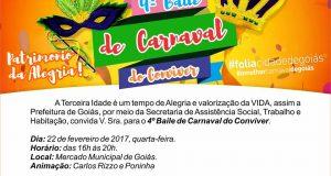 BAILE DE CARNAVAL DO CONVIVER